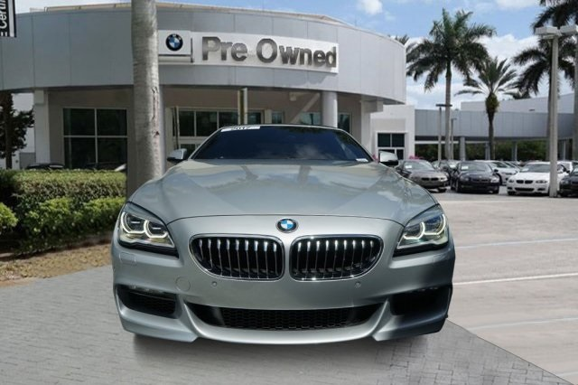 2017 BMW 6 Series >> Certified Pre Owned 2017 Bmw 6 Series 640i With Navigation