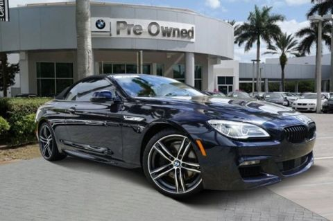 Certified Pre-Owned 2018 BMW 6 Series 650i