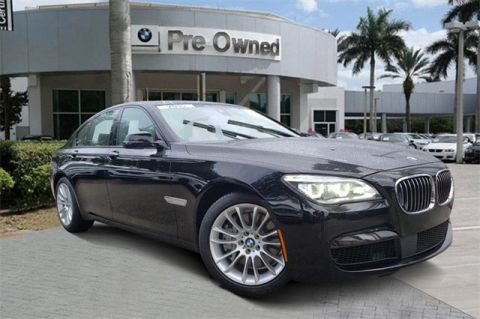 Certified Pre-Owned 2015 BMW 7 Series 750i